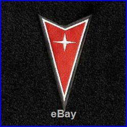 Lloyd Mats Pontiac Grand Prix Dart Emblem Velourtex Front Floor Mats (2004-2008)