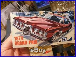 #MID60COLL# OH MY! MPC UNBUILT 1970 GRAND PRIX ORIG ISS SCREWBOT WithBOX -junkyard