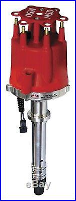 MSD Ignition 8597 Pro-Billet Distributor Chevy 4.3L Even Fire V6