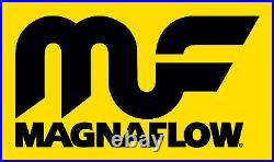 Magnaflow 91006 Universal High-Flow Catalytic Converter Oval 2.5/2.5 In/Out
