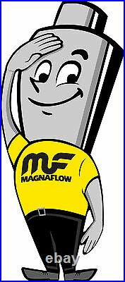 Magnaflow 94005 Universal High-Flow Catalytic Converter Oval 2.25 In/Out
