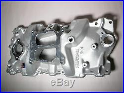 NEW IN BOX SBC Edelbrock 2101 Performer Intake Manifold for Small Block Chevy