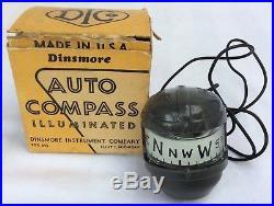 NOS 1954 1955 1956 1957 Buick Cadillac Chevrolet GMC Pontiac DINSMORE COMPASS
