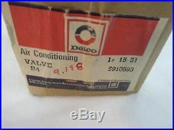 NOS 1965-1974 Chevy Buick Pontiac Olds SS 442 GTO GS Delco POA Valve GM 5910593