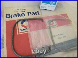 NOS 1969-81 Chevy Pontiac Olds Vette Z28 GTO Brake Reservoir Cover Lid & Gasket