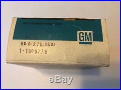 NOS 77-81 A/C BLOWER RESISTOR 1609776 Cadillac Impala Caprice Regal AC NEW OEM