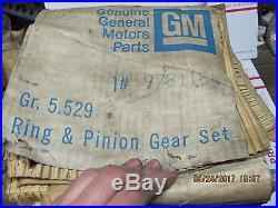 NOS GM 9781154 Ring and Pinion Gear Set 1965-1970 Oldsmobile Pontiac