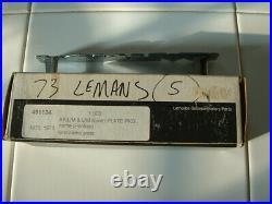 NOS Vintage 1973 Pontiac Lemans Accessory Original GTO Battery Cable Emblem Lamp