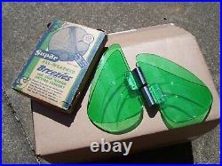 NOS Vintage Original Supar Accessory Wind Breezies Air Deflectors GM window wing
