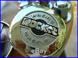 NOS Vintage Rocket Racing Mag Wheel Cap Lugs Chevy Camaro Chevelle Impala GTO GM