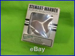 NOS Vintage STEWART WARNER Gauge Set Rat Rod Gasser Mopar Ford GM