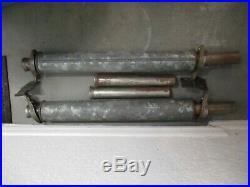 NOS Vintage Thrush Style Glass Pack Muffler x2 Dual Exhaust Hot RAt RoD P/M
