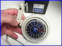NOS Vintage original Airguide Auto Altimeter accessory gauge GM Chevy Ford 1950s