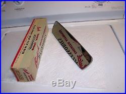 NOS original GM BUICK 1957-65 Guide Rearview Mirror glare-proof skylark vintage