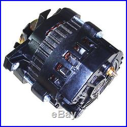 New Black High Output Alternator Fit Gm 65-85 1-wire One Wire 220 Amps 150a Idle