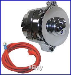 New Powermaster Alternator, Chrome, 12si, 140amp, Pontiac, Bonneville, Gto, Grand Prix