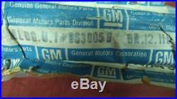 Nos Gm 73 74 75 76 77 Pontiac Grand Prix Left Front Left Rear Wheel Moldings