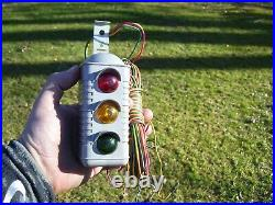 Original 1940s Vintage Rear Brake light stop auto gas accessory Rat old Hot rod