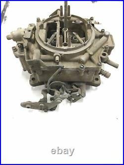 Original GM Rochester 4 Jet Four Barrel Carburetor Tag NO# 7019030