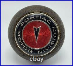 Original Pontiac Lemans GTO Firebird Walnut Factory Hurst Shifter Shift Knob