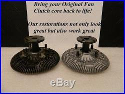Original Schwitzer or Eaton 1960's 1970's Pontiac Fan Clutch Restoration Service