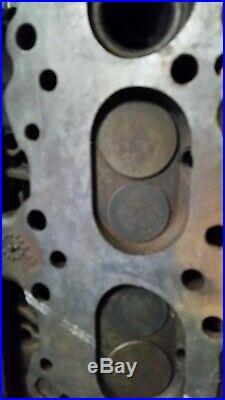 PONTIAC 389/421 CYLINDER HEADS PAIR 538177 cast iron OEM valve job complete