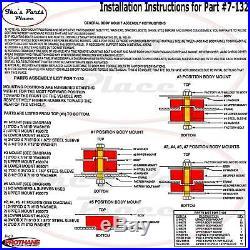 PROTHANE 7-132-BL Body Mount Bushing 78-88 Regal Malibu Grand Prix Cutlass-12 pc