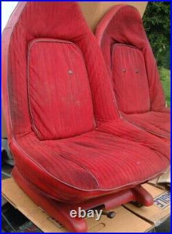 PU ONLY Pair of SWIVEL BUCKET SEATS 1973-77 Cutlass 442 Hurst Monte Carlo Lemans