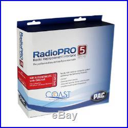 Pac RP5-GM11 GM LAN Radio Replacement Interface Onstar Steering Wheel Control