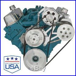Pontiac Alternator and Power Steering Bracket Billet 350 400 455 GTO Trans AM