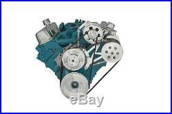 Pontiac Power Steering & Alternator Bracket Billet Aluminum 350 400 428 455