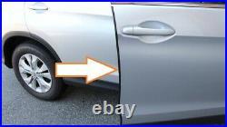 Pontiac Protectors Trim molding (4 door kit) GLOSS BLACK DOOR EDGE GUARDS