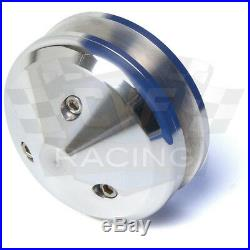 Pontiac Pulleys Underdrive Kit 350 400 428 455 Billet Aluminum V8 V-Belt Set