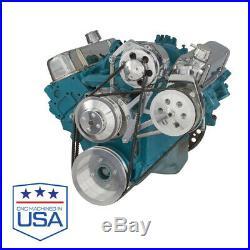 Pontiac V-Belt System Power Steering 350-400 428 455 V8 PONT