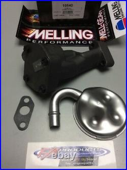 Pontiac V8 Engines High Performance Oil Pump With Screen Melling 10540