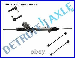 Power Steering Rack and Pinion Tie Rod Sway Bar for 2004-2008 Pontiac Grand Prix