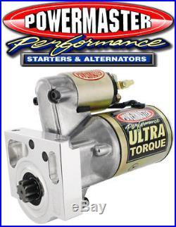 Powermaster 9410 Ultra Torque Oldsmobile Pontiac V8 Mini Starter 250 ft. Lb