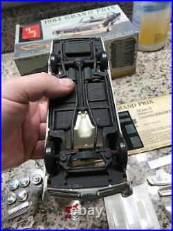RARE ORIGINAL AMT ANNUAL 1964 PONTIAC GRAND PRIX Model Car Kit, UNBUILT, LQQK