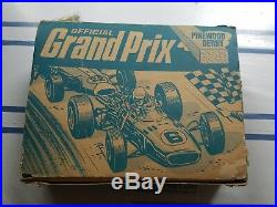 RARE VINTAGE Pinewood Derby Car Kit Grand Prix Cub Scout 8 CAR SET