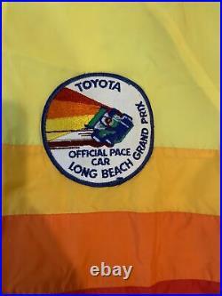 RARE Vintage Toyota Long Beach Grand Prix Pace Car Jacket Size Medium