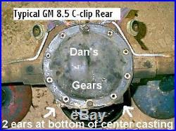 REBUILT GM 8.5 10 Bolt 28 spline 3 series open carrier non posi Timken Bearings