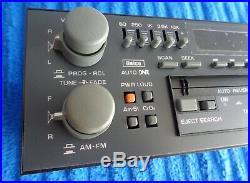 REBUILT OEM Delco 84-96 Pontiac 5-Band EQ Radio Cassette Stereo w NOS FACEPLATE