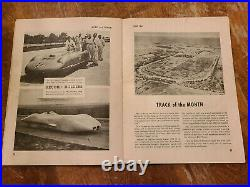 ROAD & TRACK Magazine #1 1947 Auto RACING vtg INDY 500 46 Ford OFFY Sprint Cars
