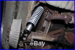 Rear Coil Over Kit QA1 18 Way Single Adjustable Shocks & 130# Springs