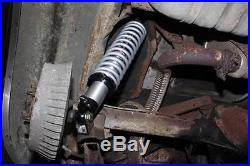 Rear Coil Over Kit QA1 18 Way Single Adjustable Shocks & 150# Springs