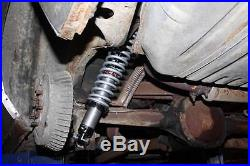 Rear Coil Over Kit QA1 18 Way Single Adjustable Shocks & 175# Springs