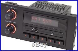 RetroSound Newport GM / Chevy DIN 1.5 am/fm Radio USB Bluetooth 3.5mm Aux