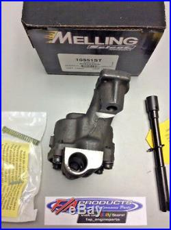 Small Block Chevy High Volume SHARK TOOTH Performance Oil Pump Melling 10551ST