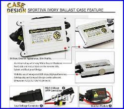 Sportiva HID 9007 HB5 Bi Xenon Headlight True AC 55W Slim Digital Conversion Kit