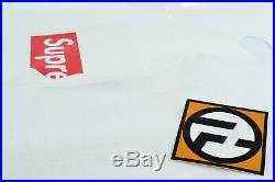 Supreme Monaco Grand Prix Racer T-Shirt White Large F/W 2008